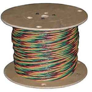 Southwire Submersible Well Pump Wire 12 3 Solid Cu W g 150 Ft Nylon Jacket