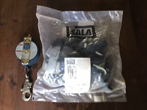 Dbi sala Exofit Xp Full Body Safety Harness Medium With 3m Ultra Lok Lifeline