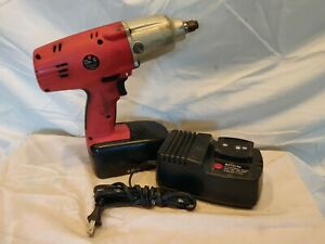 Mac Tools Corless Impact Wrench Cl12192 W Battery 19 2v Charger Works Well