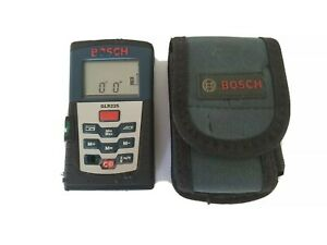 Bosch Glr225 Professional Laser Distance Measurer With Carrying Case