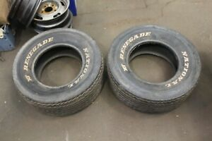 Vintage 1970 S L60 15 National Xt Renegade Racing Muscle Car Polyglas Tires