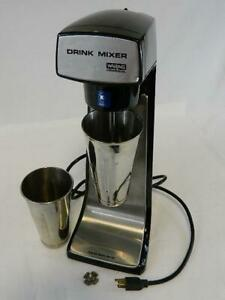 Waring Commercial Drink Mixer Dmc20 31dm43 120 Volts With 2 Mixer Cups 2 Speeds