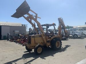 Case 580 Super E Backhoe Wheel Front Loader Tractor Extendahoe