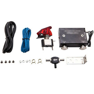 Dual Stage Electronic Adjustable Car Turbo Boost Controller Kit Psi Universal