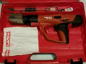 Hilti Dx 462 Powder Actuated Tool With X hm Head Mint Condition used
