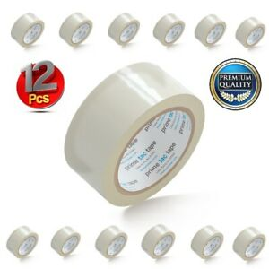 Primetac Packing Tape Refill Clear 1 88 In X 55 Yd Carton Sealing Tape 12 Rolls