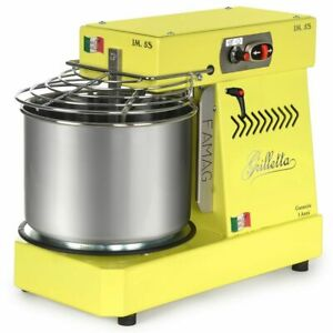 Famag Grilletta Spiral Dough Mixer Lemon Gelato 8 4 Quarts