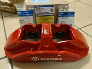 Mustang Brembo Gt500 6 Piston Caliper S550 With Hardware