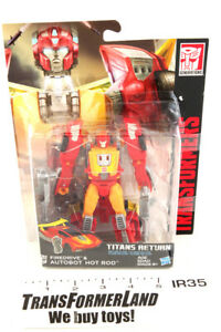 Hot Rod Firedrive Sealed MOSC Deluxe Generations Titans Return Transformers $28.40