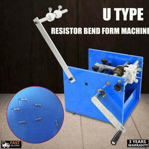 Axial Lead Bend Cut Form Machine Adjustable U Type For Resistor And Diodes New