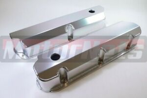 Small Block Ford Fabricated Aluminum Valve Covers 289 302 351w Tall Sbf Hot Rod