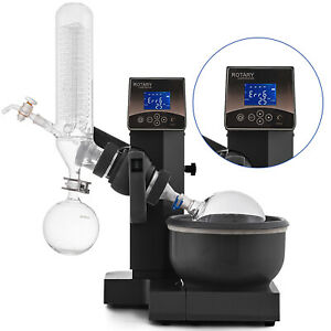 2l Rotary Evaporator Rotovap Stainless Lab Equipment Rotation Speed 0 90rpm Usa