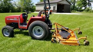 Massey Ferguson Tractor 1433 Woods Prd 72 Rear Mower