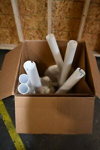 Crowd Control Stanchions Plastic 14 X 39 White 6 box missing The Chain