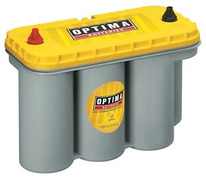 Yellowtop Optima Battery Yellowtop D31t High Performance 900cca Sold By Chrome