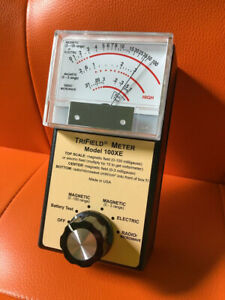 Trifield 100xe Emf Meter Magnetic Radio Frequency Electric Microwave Analog