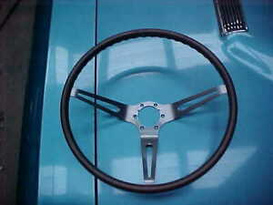 Nice Used Genuine Gm 1967 68 Chevelle Ss Camaro Corvette Wood Steering Wheel L