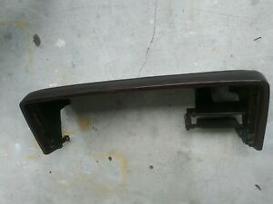 1988 1994 Burgandy Chevy Gmc Truck Tahoe Gauge Surround Bezel Dash Trim Pad