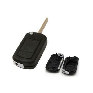 Keyless Entry Remote Fob Replacement Uncut Flip Key Blanks Shell Case Land Rover