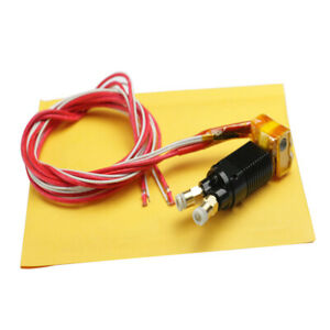 Mk8 2 In 1 Out Assembled Extruder Hot End Kit 0 1 16in 0 1 32in Nozzle For 3d
