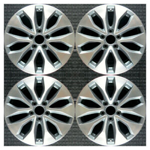 Set 2013 2014 2015 Honda Accord Oem Factory 42700t3la92 17 Oe Wheels Rims 64050