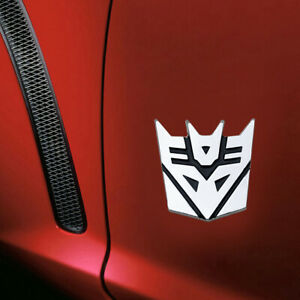 1x Cool 3d Protector Decepticons Transformers Emblem Badge Graphics Car Sticker