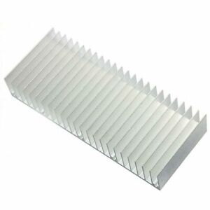 5pcs 5 29 32x2 3 8x0 31 32in Aluminum Heatsink Heat Sink Cooling For Ic Chip