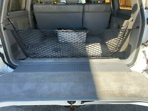 Rear Trunk Envelope Style Organizer Cargo Net For Toyota Land Cruiser 1995 2003