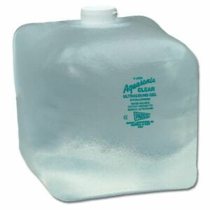 Aquasonic Clear Ultrasound Gel 5 Liter Pack Of 2