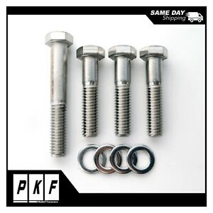 Short Water Pump Stainless Hex Bolt For Small Block Chevy Sbc Bbc 350 396 454