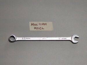Mac Tools Usa M11cl 11mm Combination Wrench 12 Point 6 75 In Ships Free