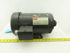 Dayton 4lw86 1hp Electric Motor 208 230 460 480v 3ph 143tc Frame 1720rpm