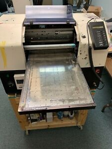 Durafos Durager 610sd hv Flatbed Eco Solvent Ink Jet Industrial Printer Used