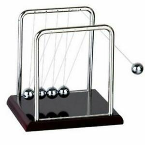 Newton s Balance Steel Ball Cradle Pendulum Physics Science Toy Father Day Gift