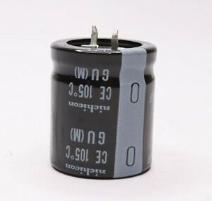 Pack Of 250 Nichicon 330uf Ectrolytic Capacitor Ce 105 c Snap in