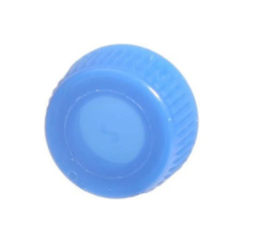 Fisherbrand Microcentrifuge Tube Craps Screw Caps Without O rings Blue