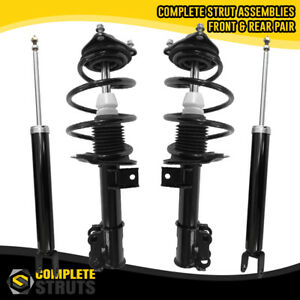 Front Complete Struts Rear Shock Absorbers For 2011 2014 Hyundai Sonata
