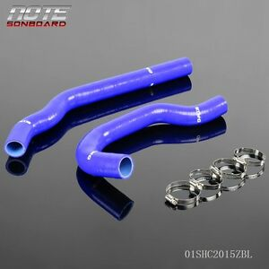 For Toyota Mark Jzx90 Chaser Cresta 1jz Gte 92 96 Silicone Radiator Hose Blue