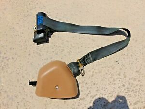 1994 95 Ford Mustang Convertible Tan Lh Drivers Front Seat Belt 1 1 8 Latch