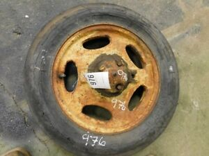 John Deere H Tractor Front Rim Hub And Tire Tag 976