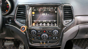 Accessories Console Gps Dashboard Cover Trim For Jeep Grand Cherokee 2014 2020
