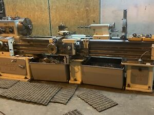 Mazak Gap Bed Lathe 18x80 Tooled Great Condition Engine Lathe Manual Lathe