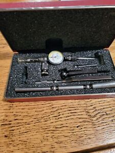 Starrett Last Word Dial Indicator 711 Gcsz With Attachments In Case 001