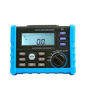Aidetek Digital Insulation Tester Multimeter Aim02 High Voltage Insulation Usa