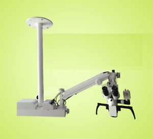 Portable 3 Step Led Microscope Ophthalmic Wall Mount Surgical Optometry New