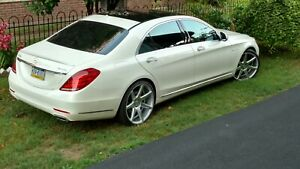 Mercedes Benz S 550 22 Inch Vossen Rims Tires Should Fit Other Cars Reduced