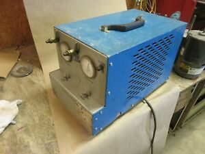 Refrigerant Recovery Machine National Refrigerants Lvi R 22 R 502 Ac Hvac
