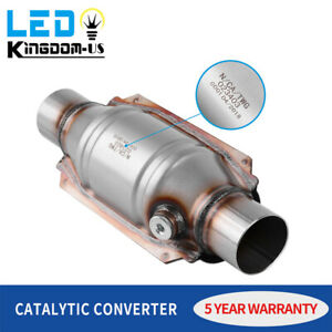 Epa Approved Universal Fit Catalyitc Converter 2 25 2 1 4 Stainless Steel