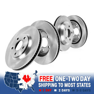 Front rear Brake Rotors For Charger 2006 2007 2008 2009 2010 Daytona R t Police