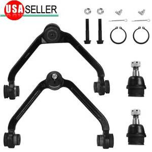 4 Front Upper Control Arm Lower Ball Joint For Mercury Mountaineer Ford Ranger